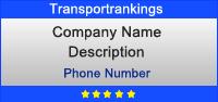 Advertising on transportrankings.com